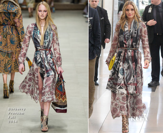 Olivia Palermo In Burberry Prorsum  - Chadstone 'Icons of Style' Launch