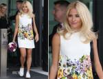 Pixie Lott In Dolce & Gabbana - BBC Breakfast Studios