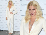 Pixie Lott In Saint Laurent - Album Launch Party