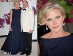 Princess Charlene of Monaco In Dior - 66th Monaco Red Cross Ball Gala