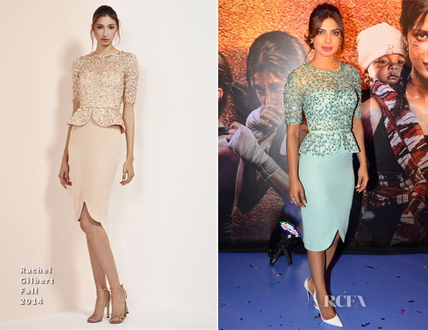 Priyanka Chopra In Rachel Gilbert- 'Mary Kom' Music Launch