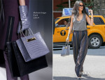 Rihanna In Alexander Wang, Haider Ackermann  & Balenciaga - Out in New York City