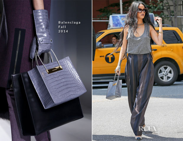 Rihanna In Alexander Wang & Haider Ackermann  - Out in New York City