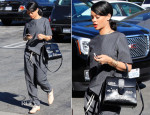 Rihanna In Alexander Wang - Le Petit Four