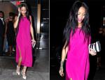 Rihanna In Helmut Lang - Butter Restaurant