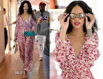 Rihanna In Natalie Martin - Out In Sardinia