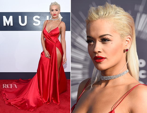 Rita Ora In Donna Karan Atelier - 2014 MTV Video Music Awards #VMA