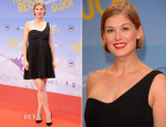 Rosamund Pike In Prada - 'Hector and the Search for Happiness' Berlin Premiere