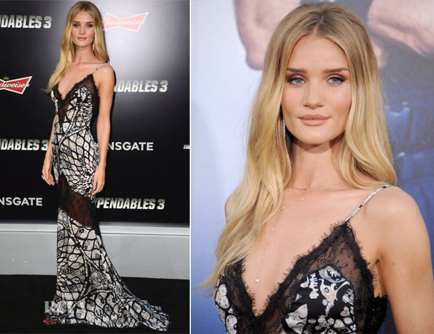 Rosie Huntington-Whiteley In Emilio Pucci - 'The Expendables 3' LA Premiere