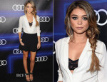 Sarah Hyland In Alice + Olivia - Audi Celebrates Emmys' Week 2014