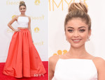 Sarah Hyland In Christian Siriano - 2014 Emmy Awards