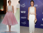 Sarah Hyland In Georges Hobeika Couture & Alberta Ferretti - 2014 Variety & Women in Film Emmy Nominee Celebration