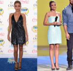 Sarah Hyland In Marc Jacobs, Emilio Pucci, Tanya Taylor and Bec & Bridge - 2014 Teen Choice Awards