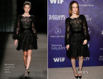 Sarah Paulson In Monique Lhuillier - Variety and Women in Film Emmy Nominee Celebration
