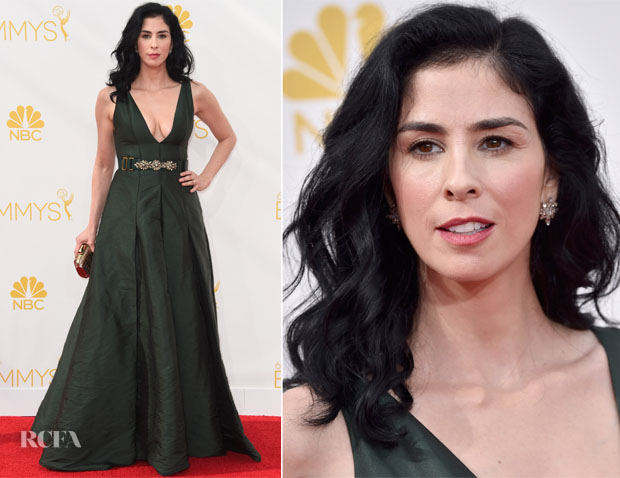 Sarah Silverman In Marni - 2014 Emmy Awards