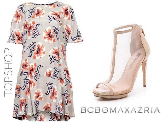 Selena Gomez In Topshop Boutique & BCBC Max Azria