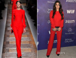 Selena Gomez In Valentino - Variety and Women in Film Emmy Nominee Celebration