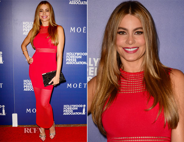 Sofia Vergara In My Revolving Closet - Hollywood Foreign Press Association's Grants Banquet