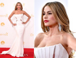 Sofia Vergara In Roberto Cavalli - 2014 Emmy Awards