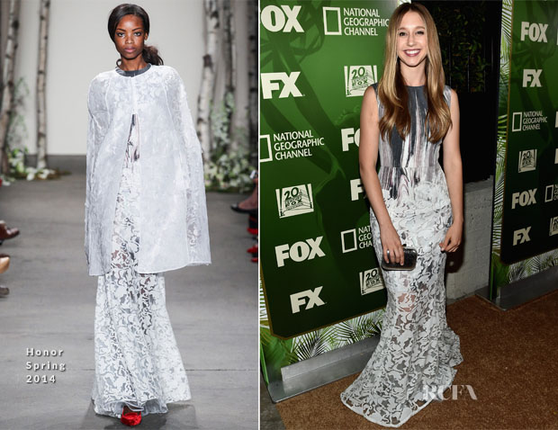 Taissa Farmiga In Honor - FOX's 2014 Emmy Award Nominee Celebration