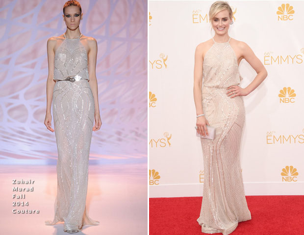 Taylor Schilling In Zuhair Murad – 2014 Emmy Awards