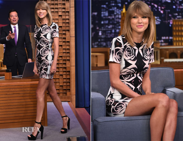 Taylor Swift In Bec & Bridge - The Tonight Show Starring Jimmy Fallon