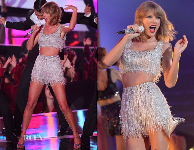 Taylor Swift In Lorena Sarbu - 2014 MTV Video Music Awards Performance
