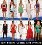 Teen Choice Awards Best Dressed