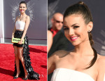Victoria Justice In Alice + Olivia & LUBLU Kira Plastinina - 2014 MTV Video Music Awards #VMA