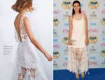 Victoria Justice In Rebecca Minkoff - 2014 Teen Choice Awards