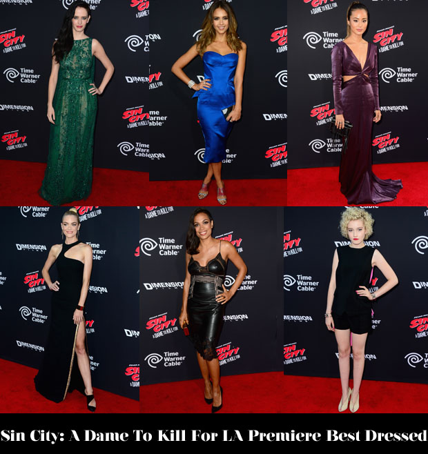 Who Was Your Best Dressed At The 'Sin City A Dame To Kill For' LA Premiere