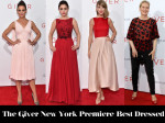 Who Was Your Best Dressed At 'The Giver' New York Premiere