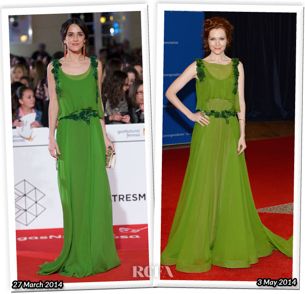 Who Wore Alberta Ferretti Better Macarena Garcia or Darby Stanchfield