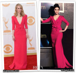 Who Wore Carolina Herrera Better Sarah Paulson or Fan Bingbing