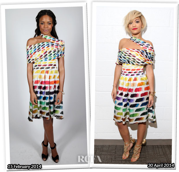 Who Wore Chanel Better Naomie Harris or Rita Ora