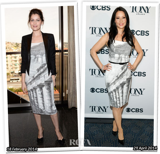 Who Wore Dolce & Gabbana Better Laetitia Casta or Lucy Liu