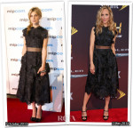 Who Wore Erdem Better...Clemence Poesy or Kim Raver