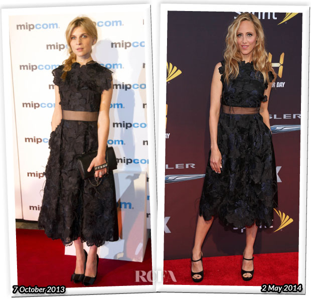 Who Wore Erdem Better Clemence Poesy or Kim Raver