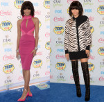 Zendaya Coleman In Material Girl & Emanuel Ungaro - 2014 Teen Choice Awards