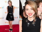 Zoe Kazan In Miu Miu - 'What If' New York Premiere