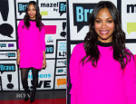 Zoe Saldana In ALC - Watch What Happens Live