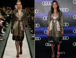 Zoe Saldana In Givenchy - Audi Celebrates Emmys' Week 2014