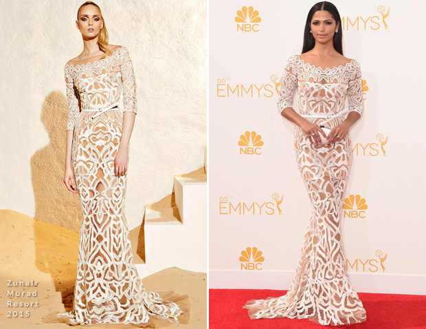Camila Alves in Zuhair Murad – 2014 Emmy Awards