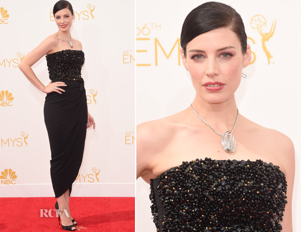 Jessica Pare In Lanvin – 2014 Emmy Awards
