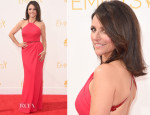 Julia Louis-Dreyfus In Carolina Herrera – 2014 Emmy Awards