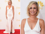 Kristen Wiig In Vera Wang – 2014 Emmy Awards