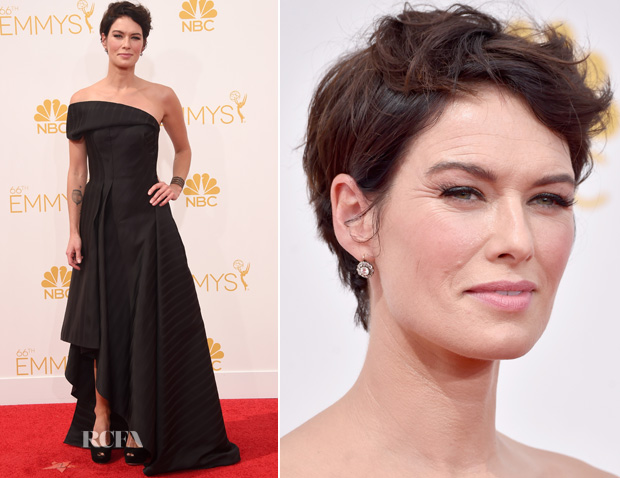 Lena Headey In Rubin Singer – 2014 Emmy Awards