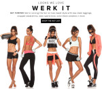 Revolve Clothing:  Werk Out