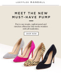Instant Outfit-Maker: The New Loeffler Randall 'Pari' Pumps