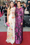 Amber Le Bon & Yasmin Le Bon In Temperley London - 2014 GQ Men of the Year Awards